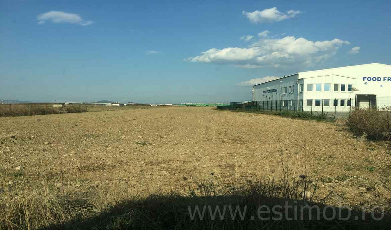 Teren constructie Hala productie de vanzare Brasov