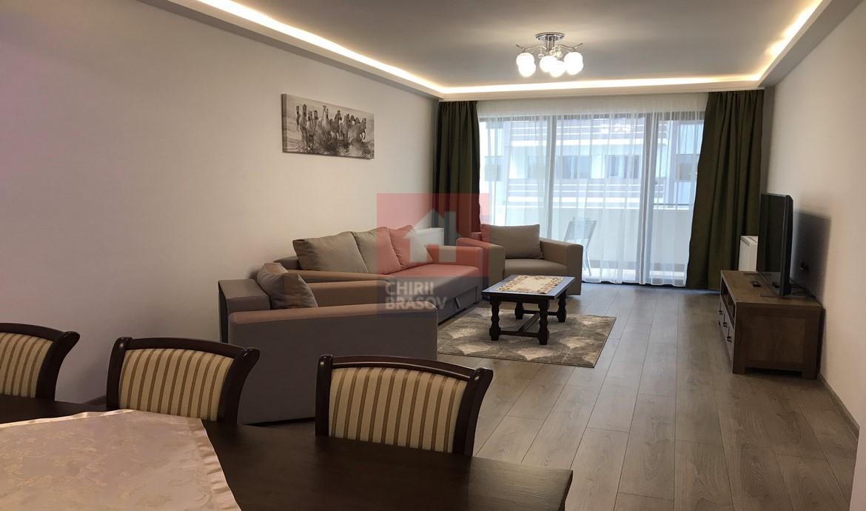 Apartament 2 camere de inchiriat cu parcare subterana zona Coresi Brasov