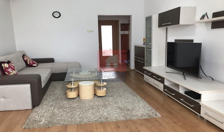 Apartament 2 camere mobilat si utilat complet Tractorul Brasov